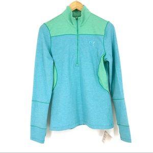 NWT Puma Half Zip Pullover